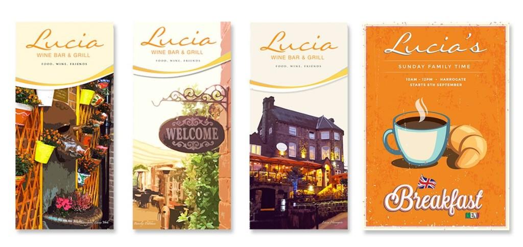 restaurants web design